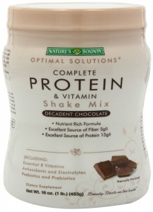 Free-Sample-Natures-Bounty-Protein-Shake