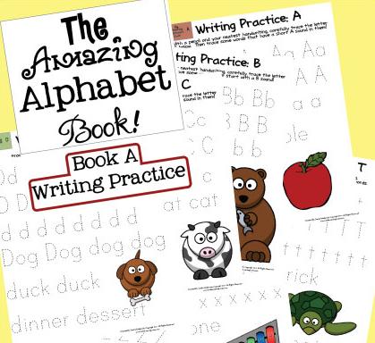 the amazing alphabet book free