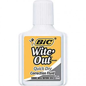bic witeout