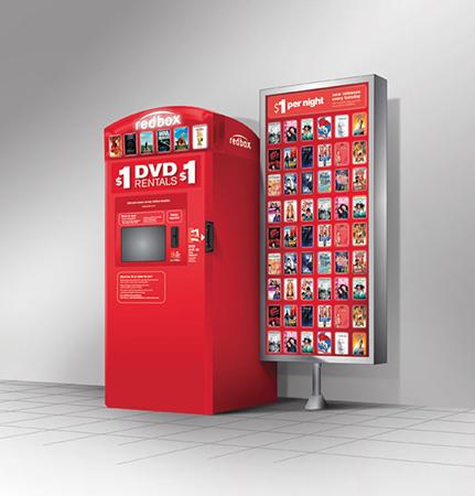 Free Rental at Redbox Kiosk