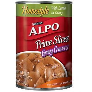 dog food when you buy one can of purina alpo canned dog food for