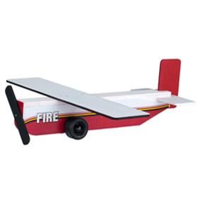 Home depot fire plane