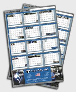 Tri Tool 2014 Calendar