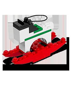 Horse Lego Mini Model