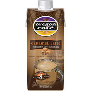 Oregon Cafe Espresso Latte Concentrate Mailed Coupon
