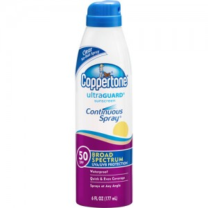Coppertone-Sunscreen